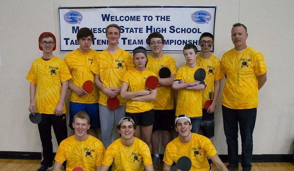 Pl Lakers At Hs Team Championships 2017 T-Shirt Photo
