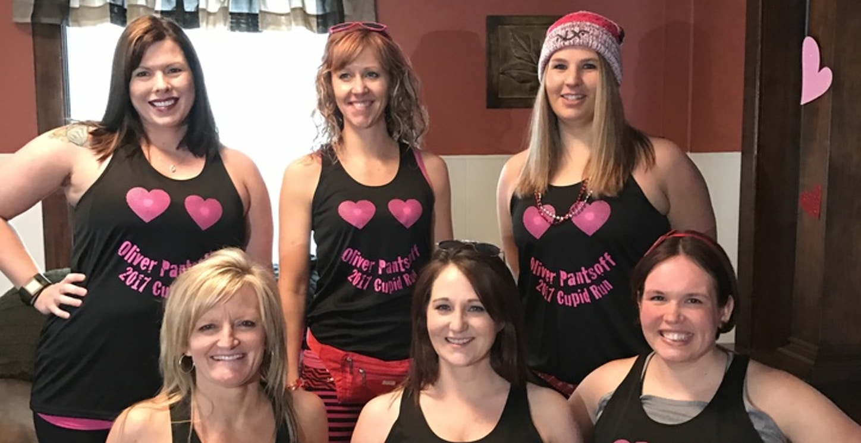 Cupids Undie Run 2017   Team Oliver Pantsoff T-Shirt Photo