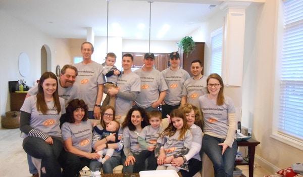 Iracane/Sidie Family Pizza Party T-Shirt Photo