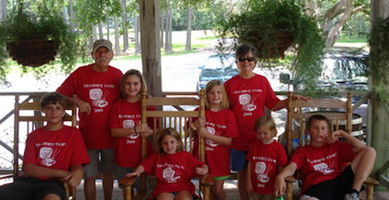 Grammie Camp Visits Avery Island La T-Shirt Photo