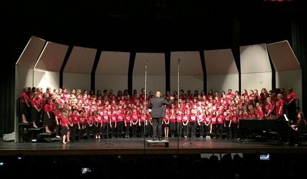 Vmea District Xv All Elementary Chorus T-Shirt Photo