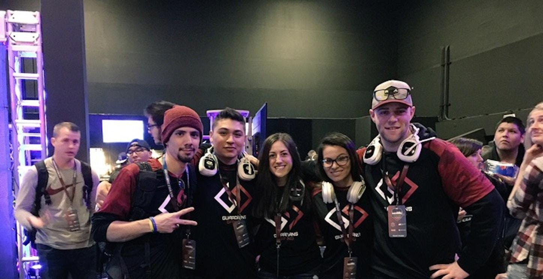 Guardians Gaming At The Halo World Championship T-Shirt Photo