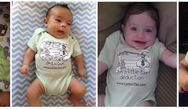 Little Tax Deductions T-Shirt Photo