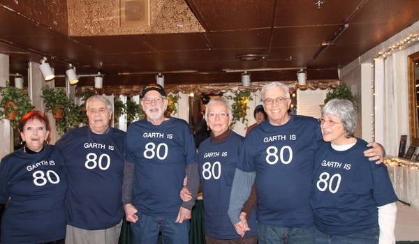 Garth's 80th Birthday Party T-Shirt Photo