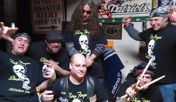 The Shiny Finger Rock Band T-Shirt Photo
