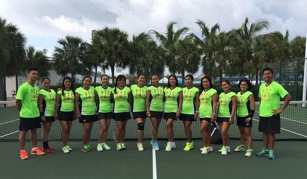 Philippine Tennis Club In Cayman Islands T-Shirt Photo