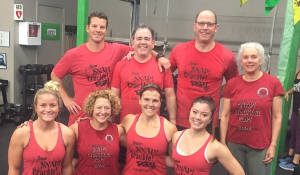 Morning Crew After Workout 17.3 T-Shirt Photo