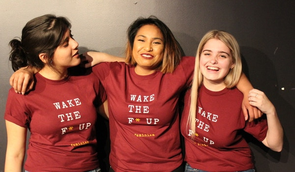 Wake The F* Up: Women Of Color Open Mic Night T-Shirt Photo