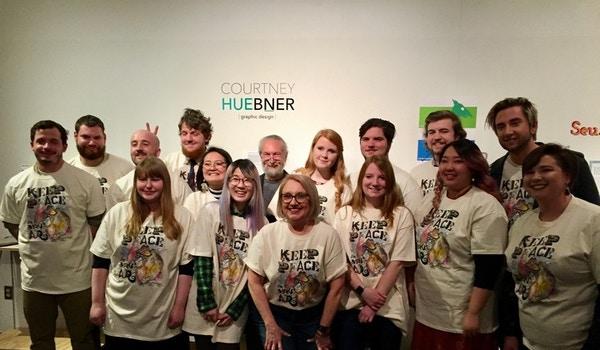 Keep Peace And Make Art! T-Shirt Photo