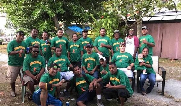 Mon Kubok Softball Team T-Shirt Photo