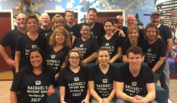 From Nj To No:  Rachael's 21st Birthday Bash T-Shirt Photo