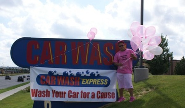 Wash Your Car For A Cause   Susan G. Komen Fundraiser T-Shirt Photo
