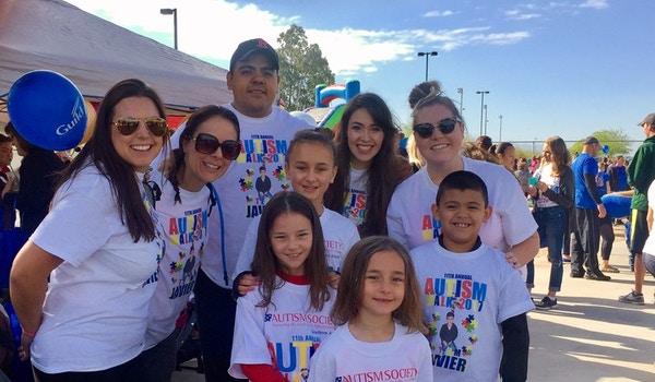 Autism Walk 2017 T-Shirt Photo