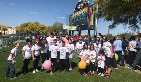 Team Javier Autism Walk 2017 T-Shirt Photo