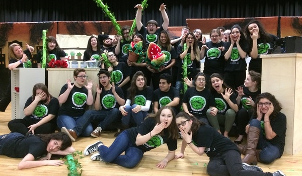 Little Shop Of Horrors Cast And Crew T-Shirt Photo