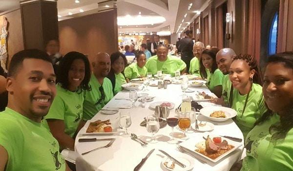Family Dinner T-Shirt Photo