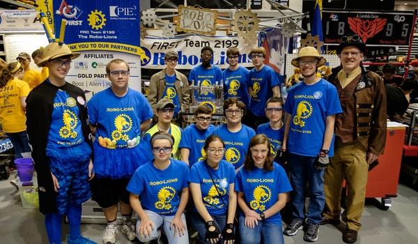 First Robotics Team 2199 At District Championships T-Shirt Photo