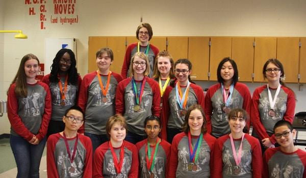 Science Olympiad Team T-Shirt Photo