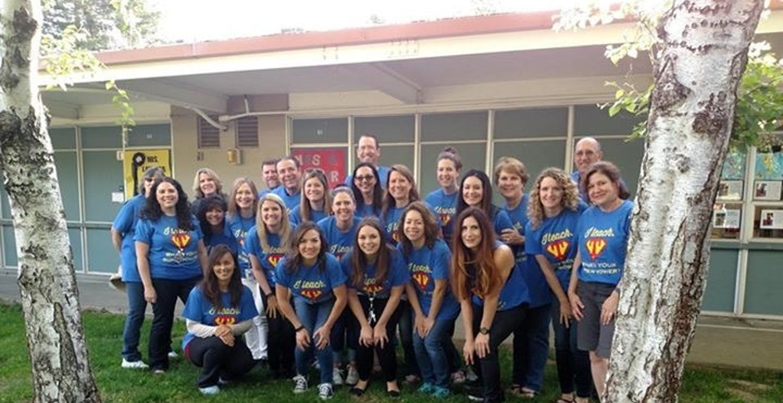 John Swett Elementary's Superheroes  T-Shirt Photo