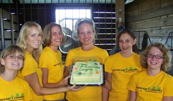Happy Anniversary Cowgirls T-Shirt Photo