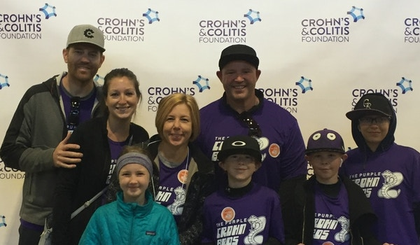 The Purple Crohn Bros T-Shirt Photo