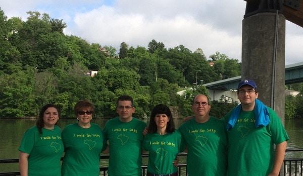 Team Hope Walk For Huntington's Disease T-Shirt Photo