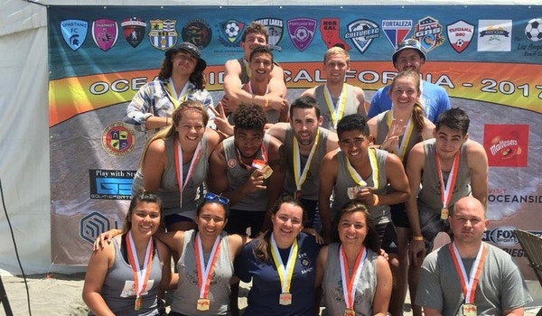 Beach Soccer Champions T-Shirt Photo