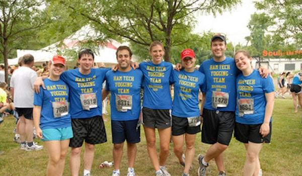 Hamilton College Yogging Team T-Shirt Photo