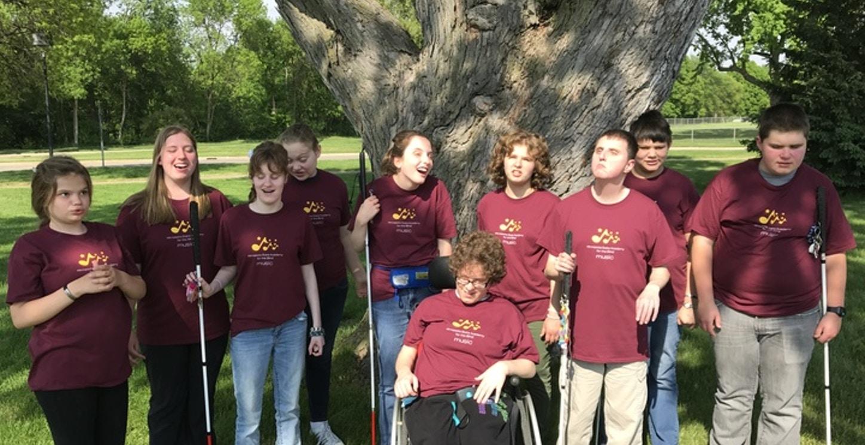 Minnesota State Academy For The Blind Choir T-Shirt Photo