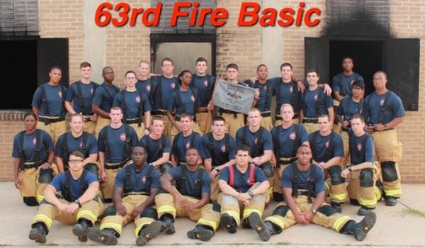 63rd Fire Basic Class T-Shirt Photo