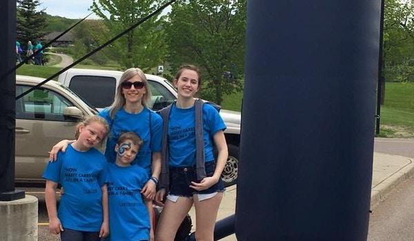 Team Collin Jdrf One Walk T-Shirt Photo