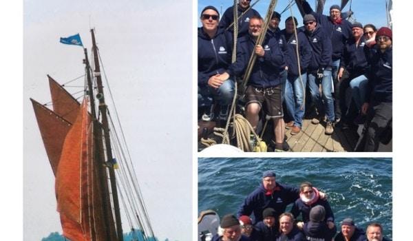 Jachara Sailing Crew   Historic Flensburg Rum Regatta T-Shirt Photo