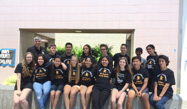 El Dorado High School Academic Decathlon Team Jv T-Shirt Photo