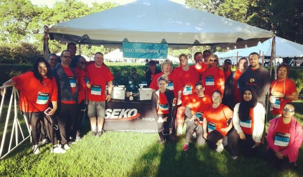 Seko At The Chase Corporate Challenge 2017 T-Shirt Photo