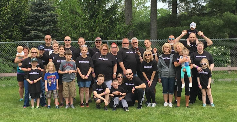 Nick's Warriors Of Epilepsy  T-Shirt Photo
