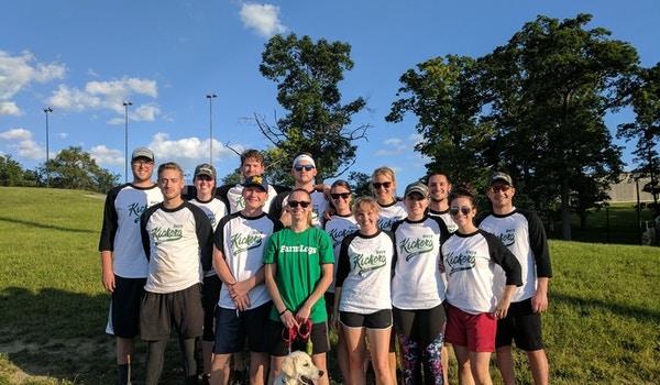 Farm Logs Softball Crew T-Shirt Photo