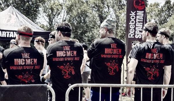 Ihc Men At The Spartan Sprint T-Shirt Photo