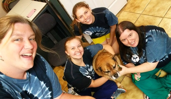 Tie Dye Summer At Our Animal Hospital! T-Shirt Photo