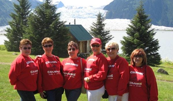 Cruzin' Cousins Cruising Alaska T-Shirt Photo