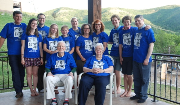 Mom's 80th Birthday! T-Shirt Photo