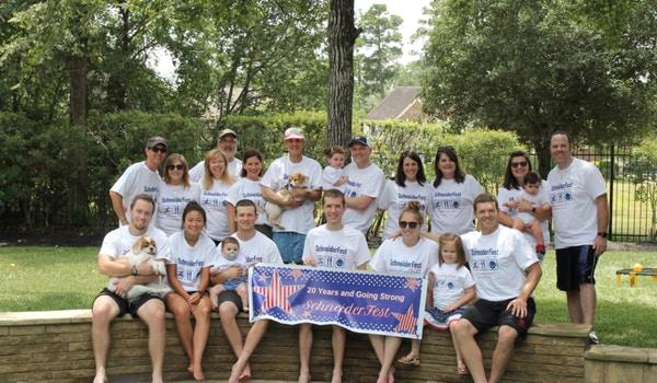 Schneider Fest 20 Years T-Shirt Photo