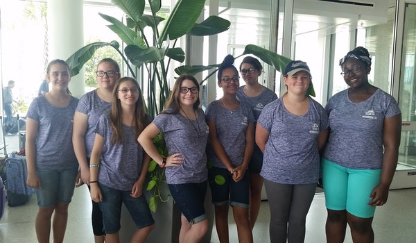 Girl Scout Troop 741 Visits Savannah T-Shirt Photo