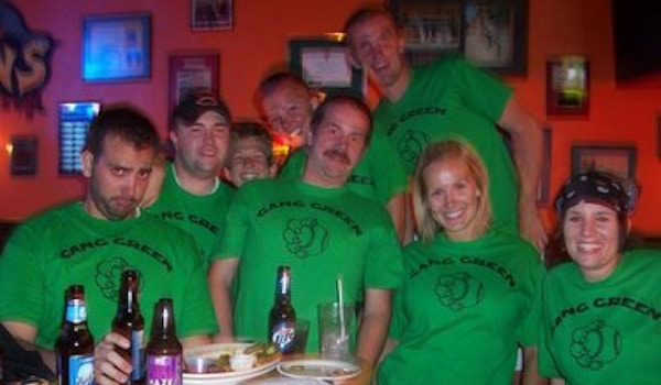 The Gang Celebrates Its First Softball Victory Of The Season T-Shirt Photo