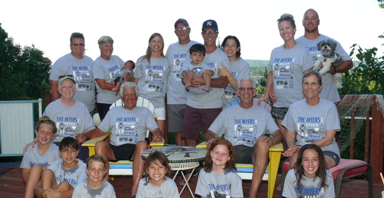 Myers Family Reunion T-Shirt Photo