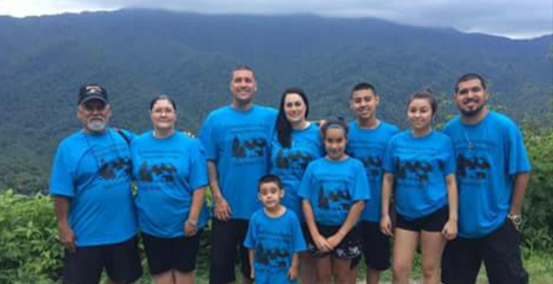 Martinez Family Vacation 2017 T-Shirt Photo
