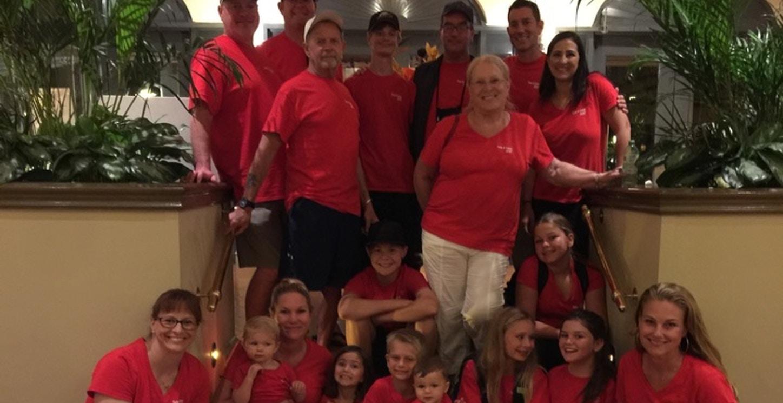 Celebrating 3 Birthdays With 19 Family Members T-Shirt Photo