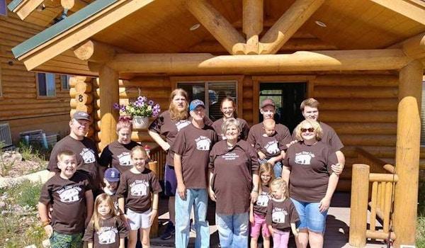 Bear River Lodge Family Reunion  T-Shirt Photo