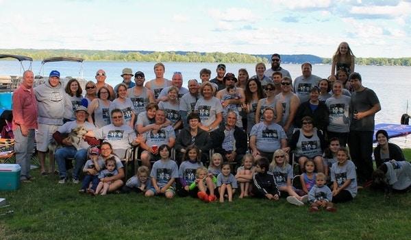 Twenty Years Of Fish & Cheer (And Beer!) T-Shirt Photo