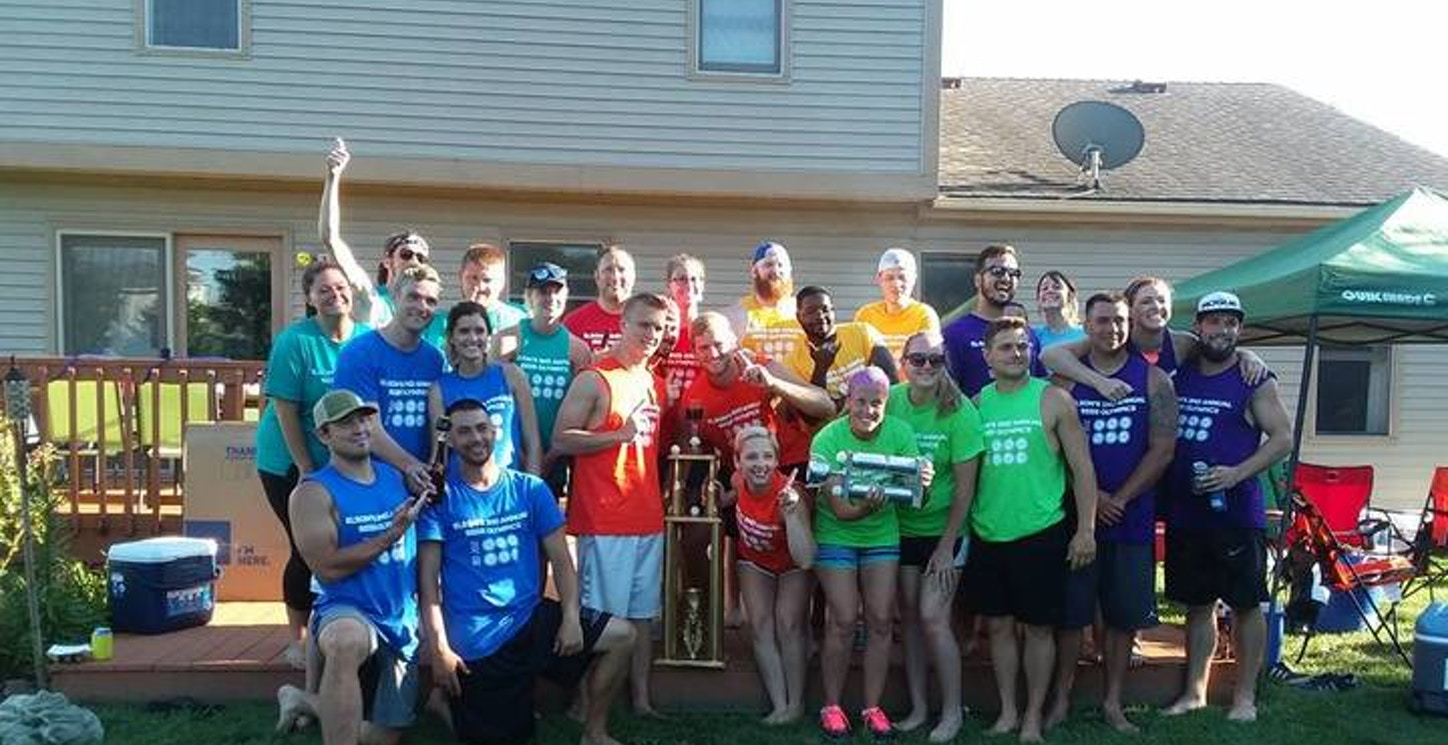 Elson's 2nd Annual Beer Olympics T-Shirt Photo