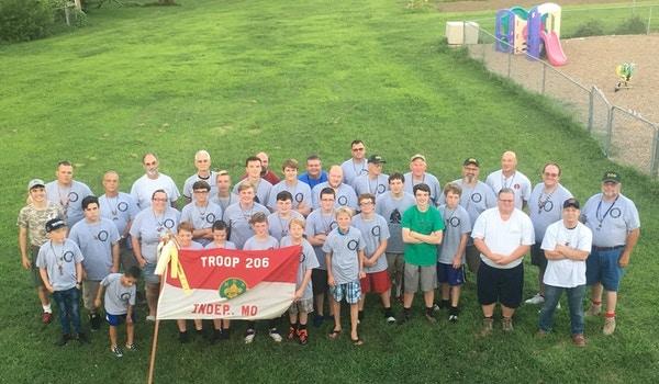 Scout Camp Shirts T-Shirt Photo
